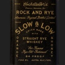 Hochstadters Slow & Low Rock and Rye