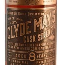 Clyde May's Cask Strength Whiskey